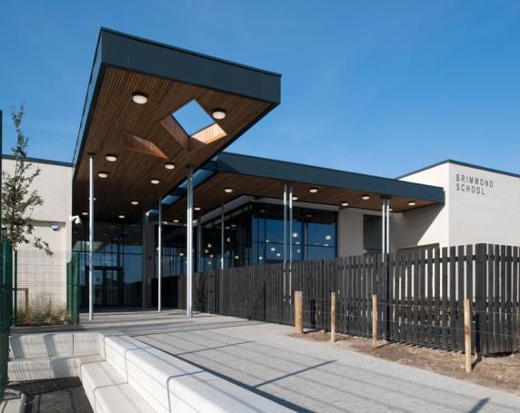 Brimmond Primary School cladding