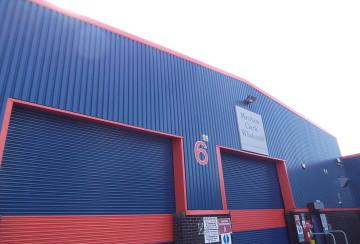 Dixon Blazes steel building cladding